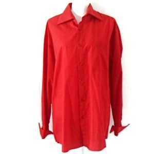 Jordan Craig Men's Red Button Down Shirt